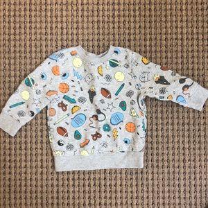Cat and Jack sweatshirt. Excellent condition!